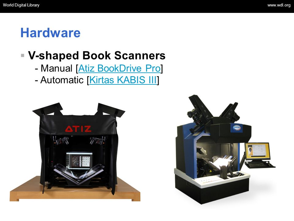 Hardware V-shaped Book Scanners - Manual [Atiz BookDrive Pro]